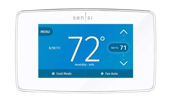 manual comfort sentry thermostat