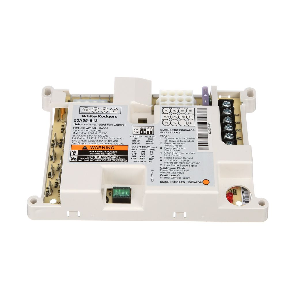 50a55 843 Integrated Furnace Controls Universal Replacement Emerson Circuit Sales Providing Programmable